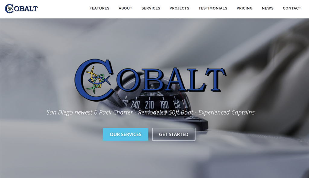 cobalt sport fishing